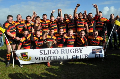 Sligo RFC league winners
