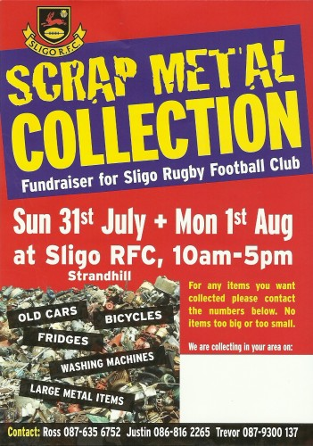 Scrap Metal Collection Fundraiser - July 2011
