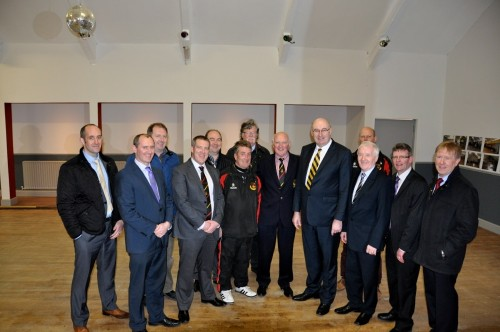 Visit to Sligo RFC of Minister Phil Hogan