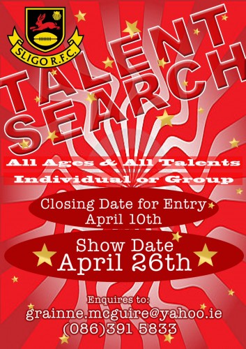 Sligo RFC Talent Search